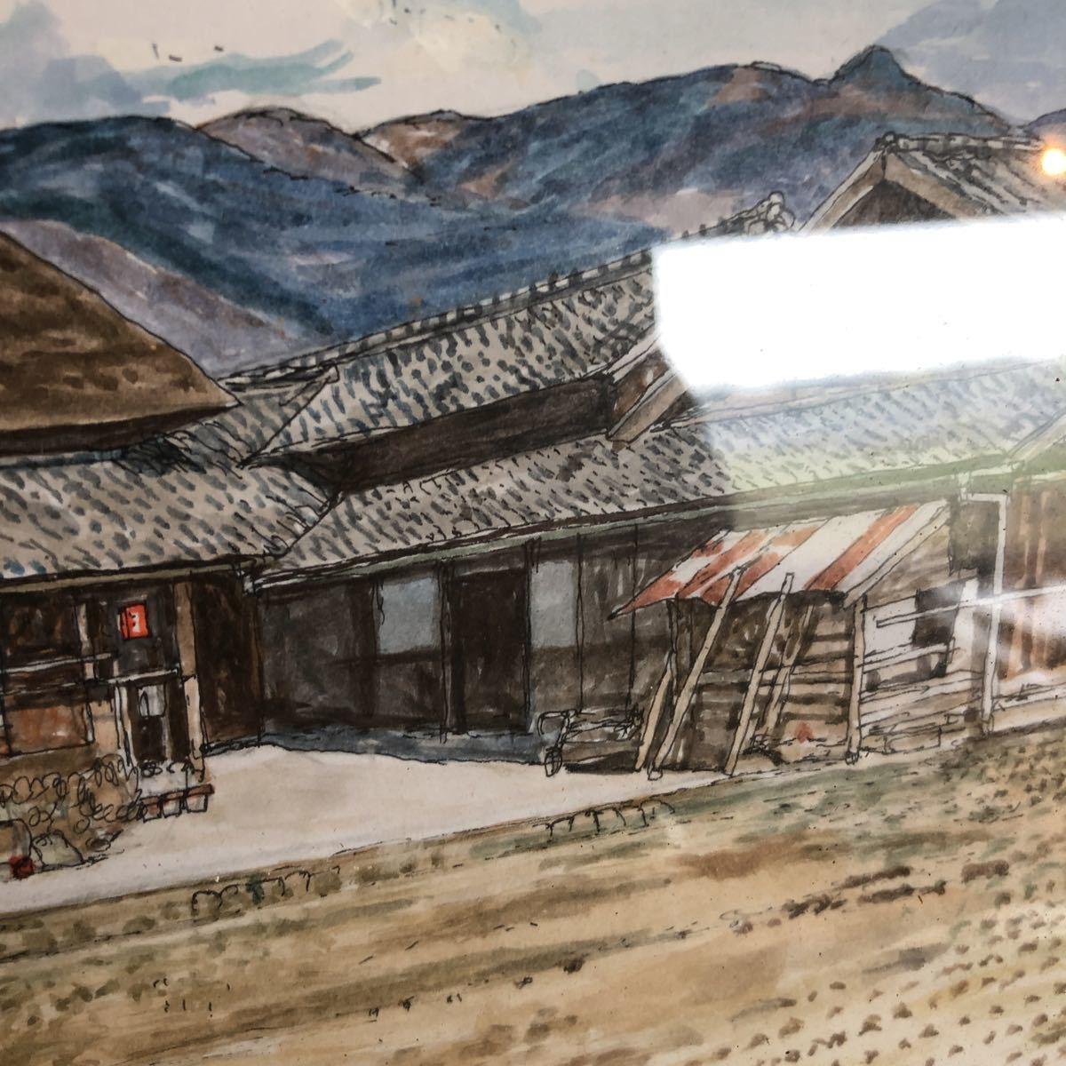 茅葺き屋根 絵画_画像4