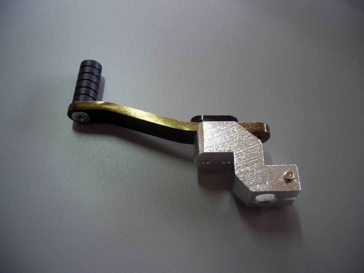 汎用ホンダ車アルミ調整式シフトペダルBR①_画像3