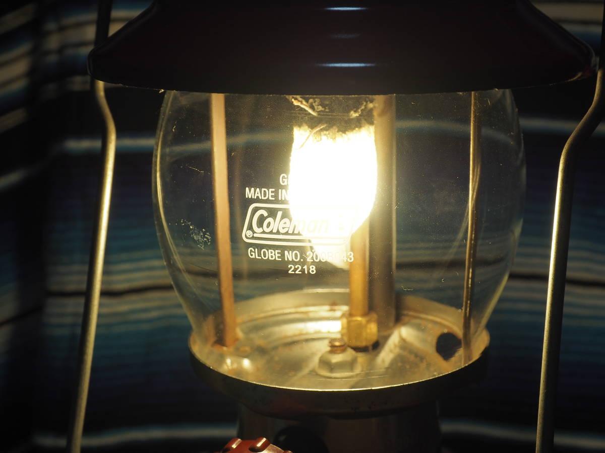 即決★絶好調 1971年1月製コールマン200Aランタン(通称ホワイトライン) 燃焼に自信あり、実機をお見せして燃焼テスト可能。a06z_画像9