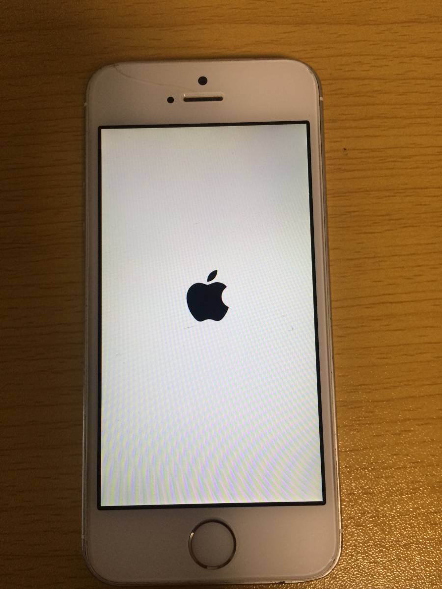 Apple アップル iphone 5s アイフォン 16gb docomo ドコモ ホワイト シルバー  ME333J/A 3
