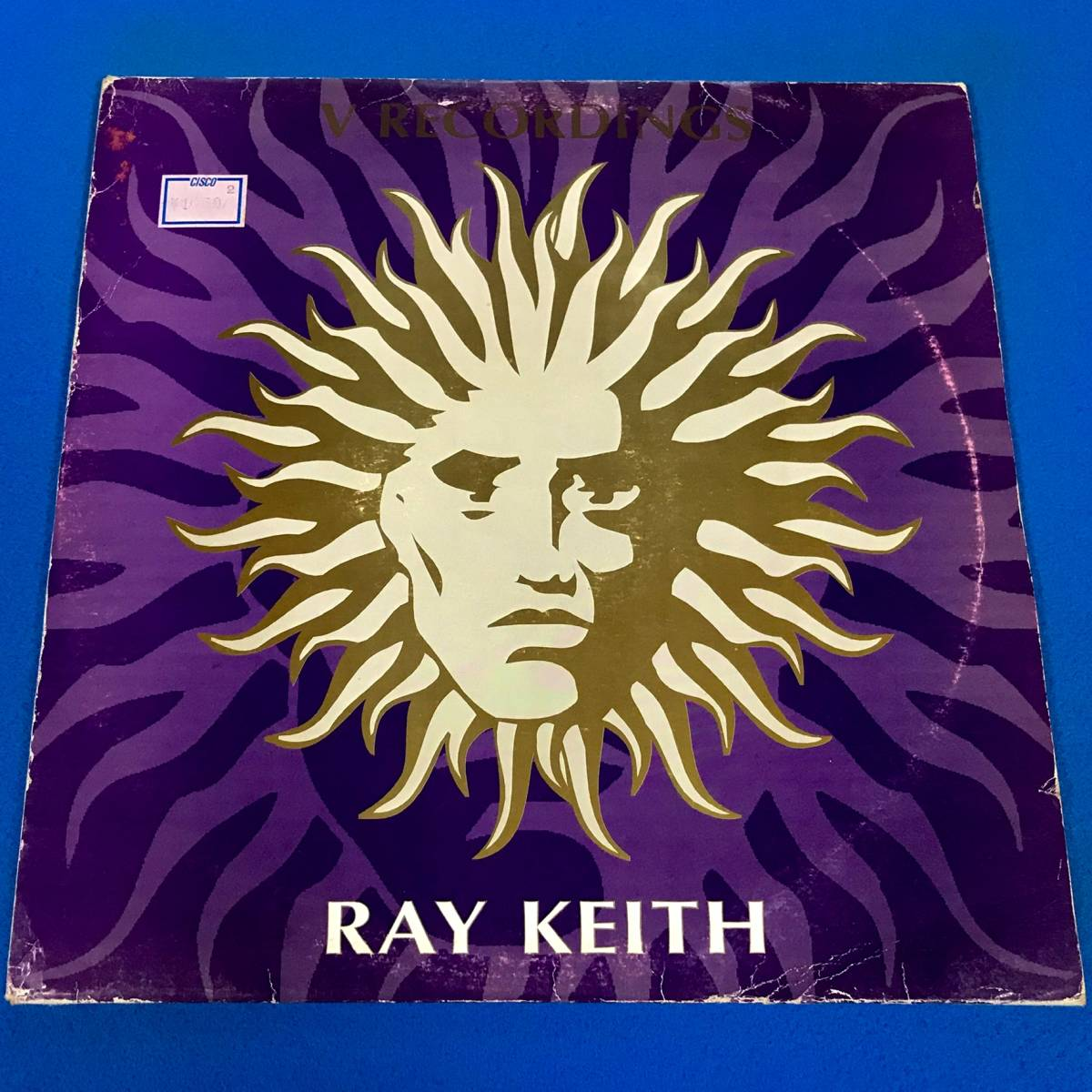 【DRUM N BASS】RAY KEITH//RAY KEITH EP//V RECORDINGS//2x12INCH VINYL/UK/DJ ZINC/GOLDIE/DJ MARKY_画像1