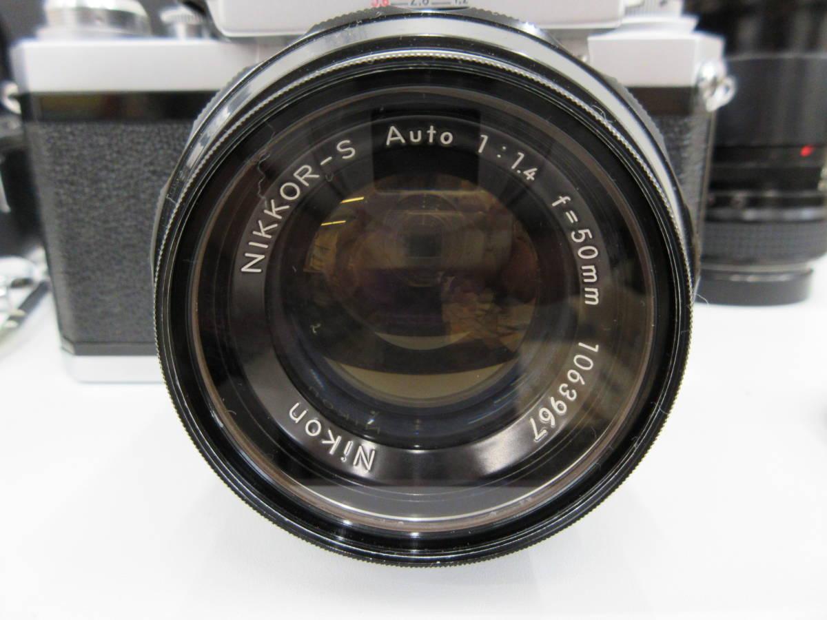 Nikon ニコン F フォトミック FTn レンズセット 元箱 取説 ハードケース付き 付属品有り フィルムカメラ_画像3