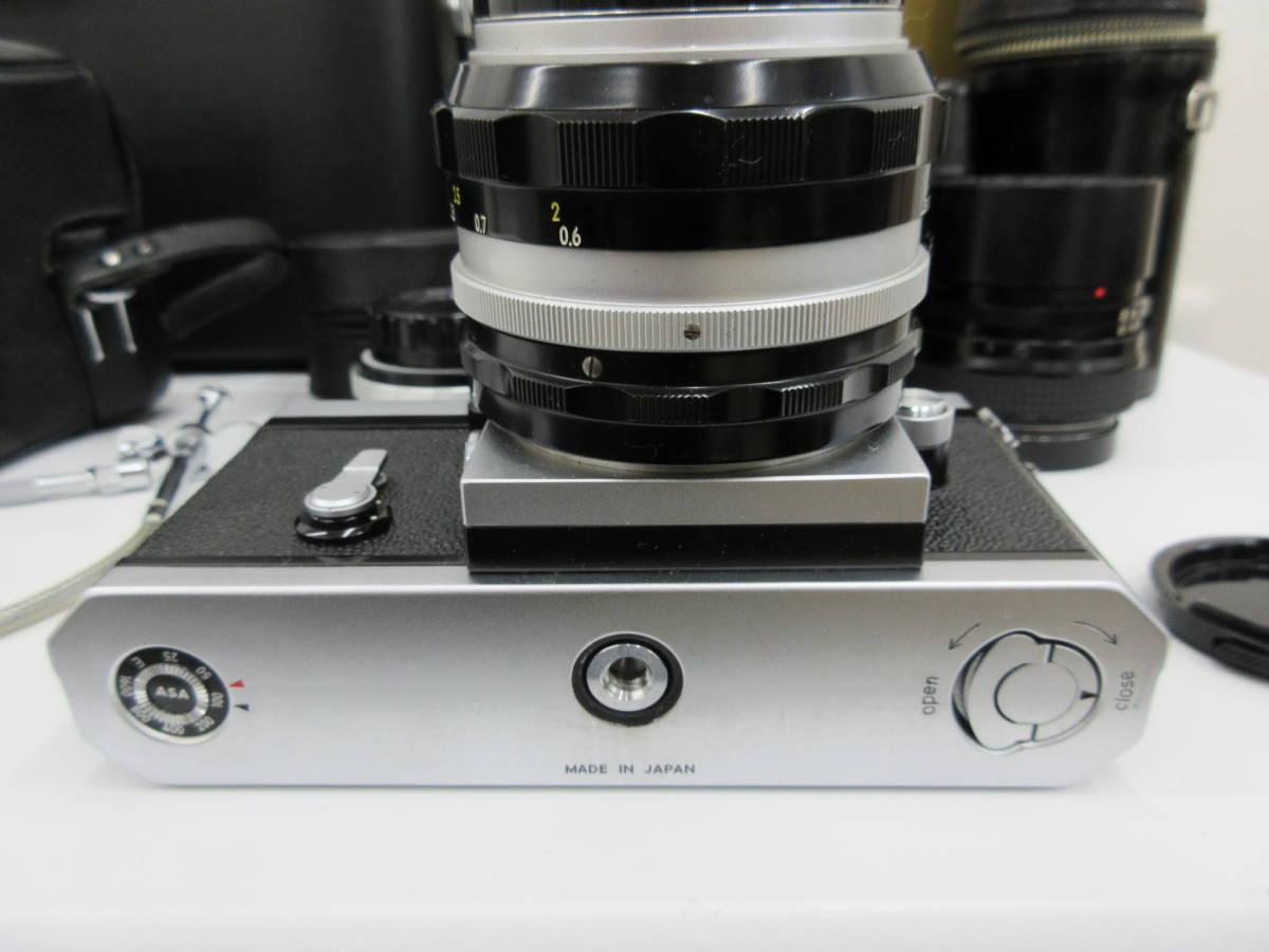 Nikon ニコン F フォトミック FTn レンズセット 元箱 取説 ハードケース付き 付属品有り フィルムカメラ_画像6