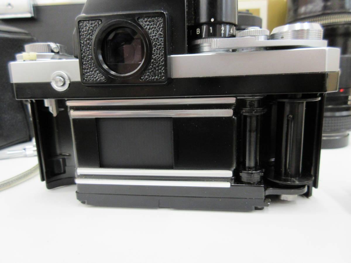 Nikon ニコン F フォトミック FTn レンズセット 元箱 取説 ハードケース付き 付属品有り フィルムカメラ_画像7