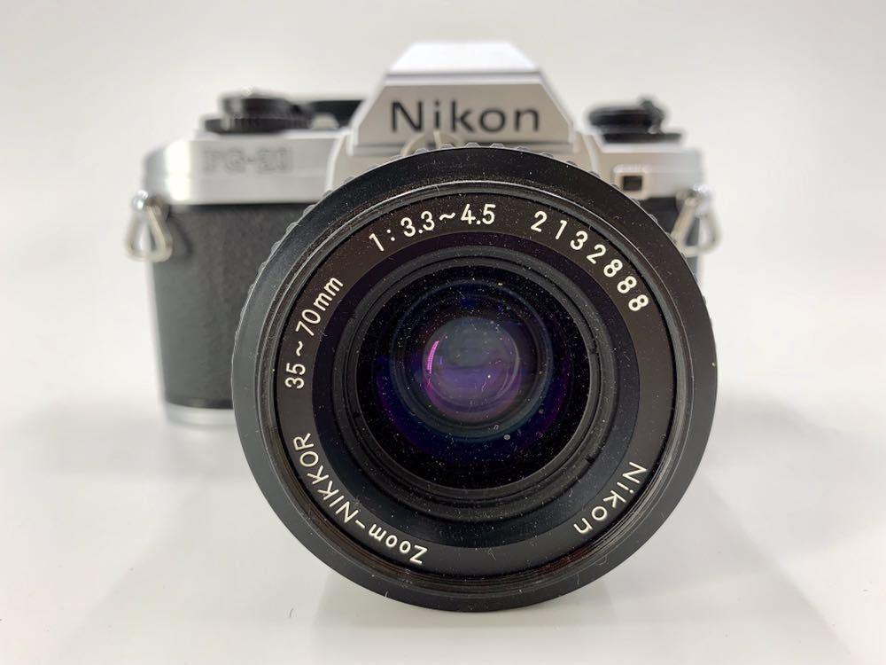 ニコン NIKON カメラ ライトニコン 一眼レフカメラ フィルムカメラ FG-20 _画像2