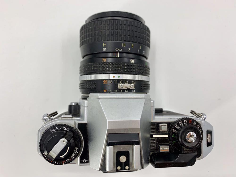 ニコン NIKON カメラ ライトニコン 一眼レフカメラ フィルムカメラ FG-20 _画像4