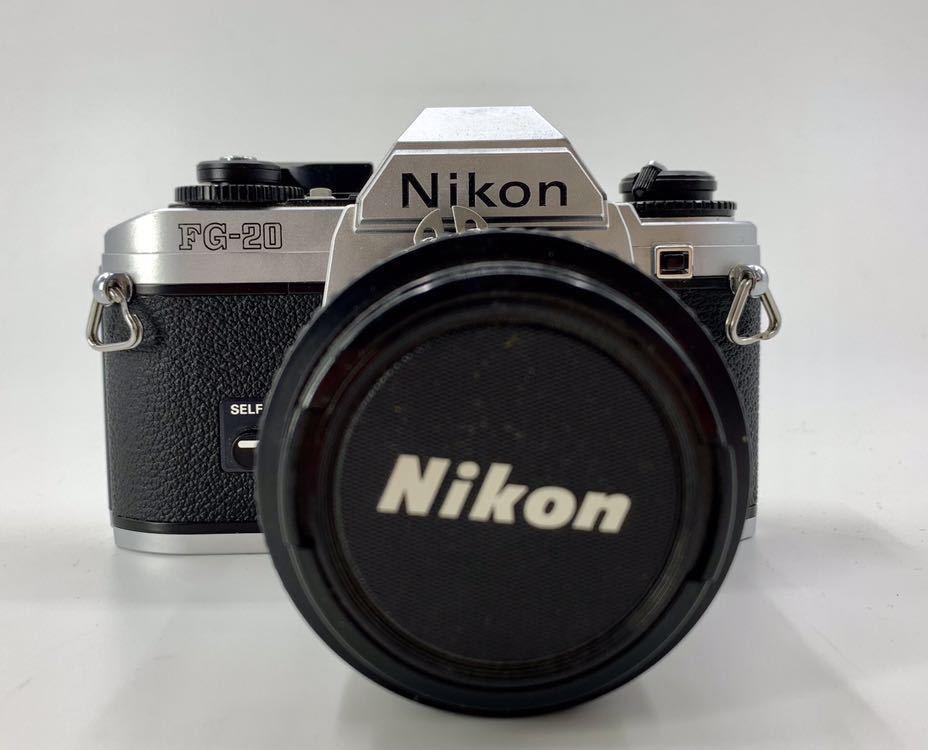 ニコン NIKON カメラ ライトニコン 一眼レフカメラ フィルムカメラ FG-20