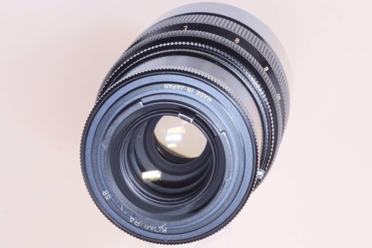 光学系・外観共良好 コムラー 三協光機 Sankyo Kohki SUPER KOMURA ZOOM 715 75-150mm F4.5 for MINOLTA SR マウント_画像10