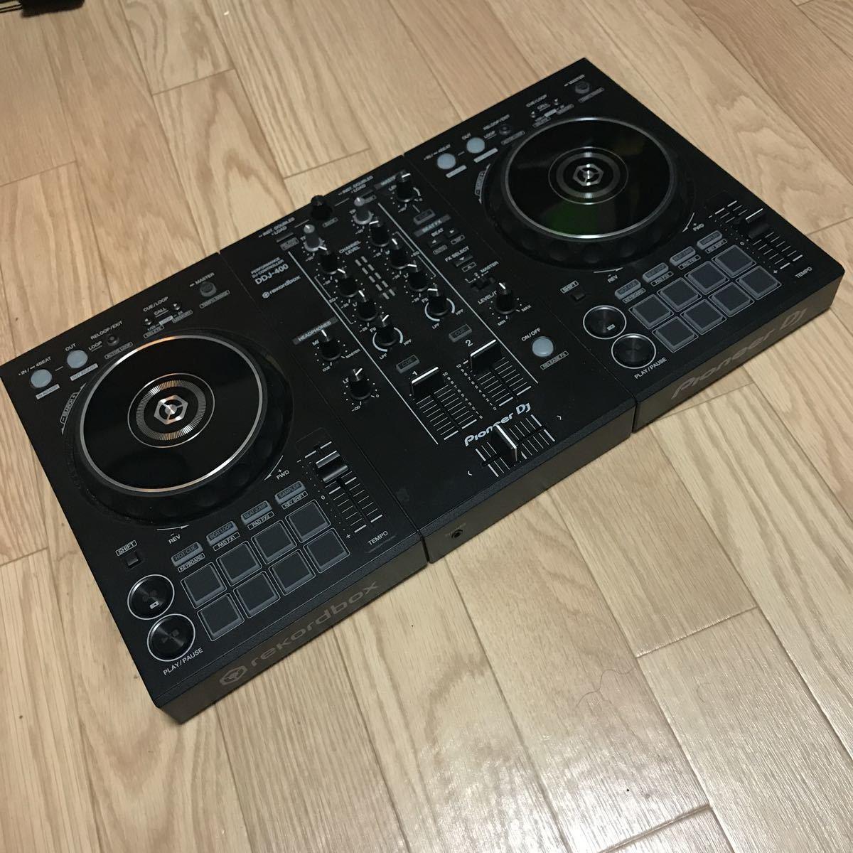 Pioneer DJ PCDJ パイオニア DDJ-400 DJコントローラー 中古美品 1円スタート