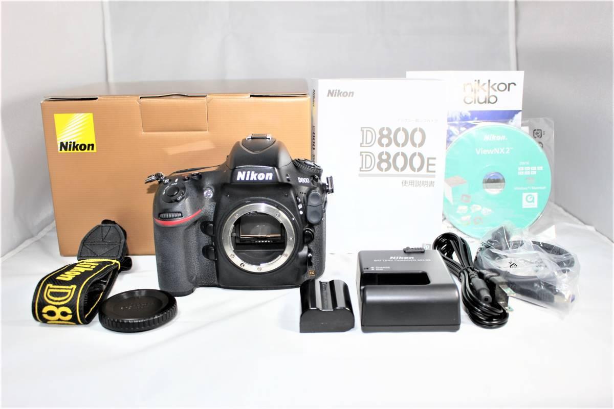 ★箱付★ ニコン Nikon デジタル一眼レフカメラ D800 ボディー安心の6カ月保証 ■K-8F19-74