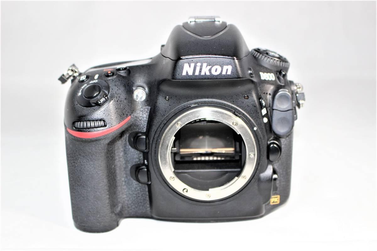 ★箱付★ ニコン Nikon デジタル一眼レフカメラ D800 ボディー安心の6カ月保証 ■K-8F19-74_画像2
