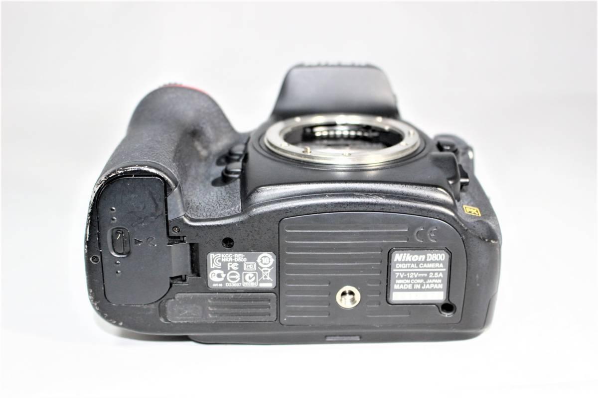 ★箱付★ ニコン Nikon デジタル一眼レフカメラ D800 ボディー安心の6カ月保証 ■K-8F19-74_画像4
