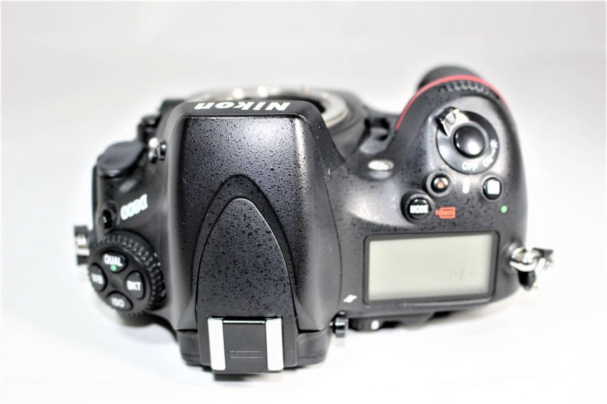 ★箱付★ ニコン Nikon デジタル一眼レフカメラ D800 ボディー安心の6カ月保証 ■K-8F19-74_画像5