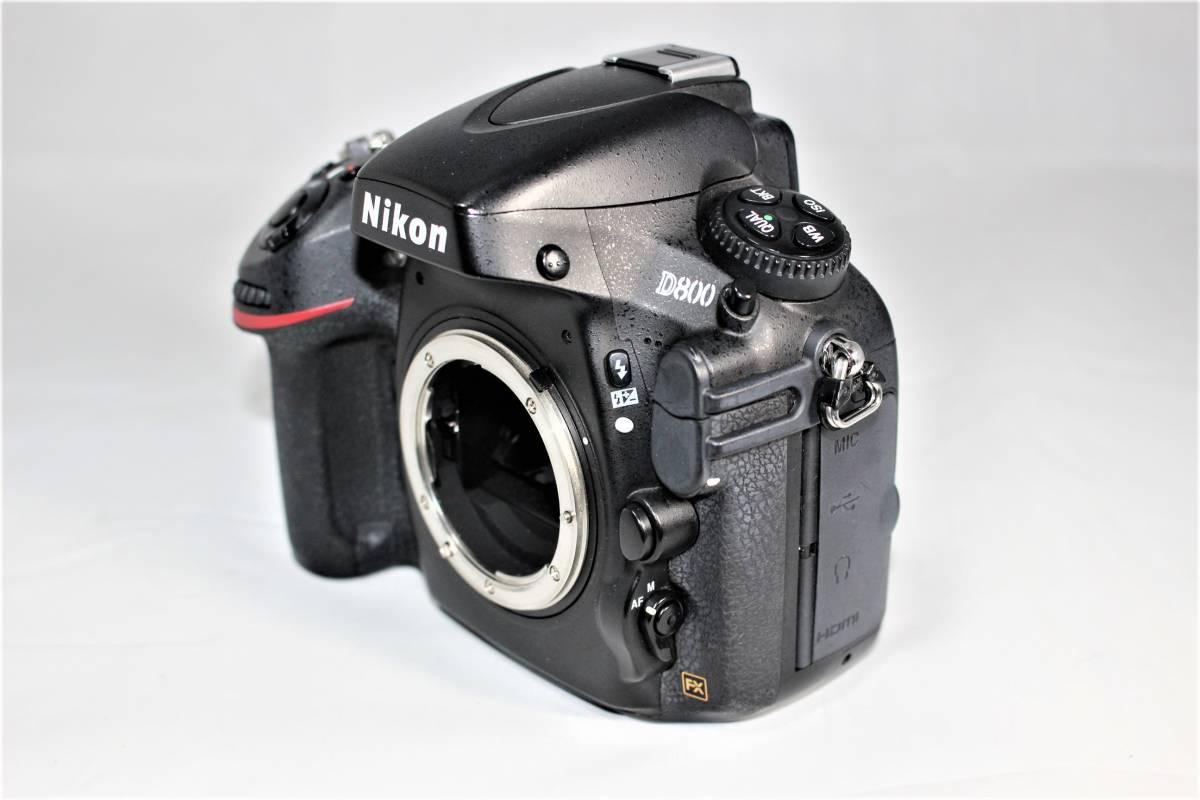★箱付★ ニコン Nikon デジタル一眼レフカメラ D800 ボディー安心の6カ月保証 ■K-8F19-74_画像6