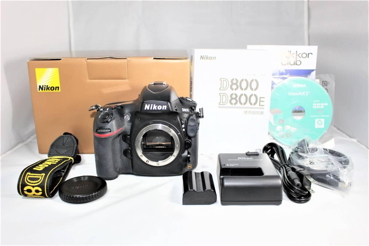 ★箱付★ ニコン Nikon デジタル一眼レフカメラ D800 ボディー安心の6カ月保証 ■K-8F19-74_画像7