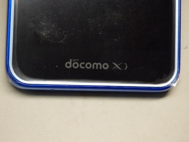 未使用 白ロム ドコモ docomo スマートフォン for ジュニア SH-05E ブルー 利用判定〇_画像4