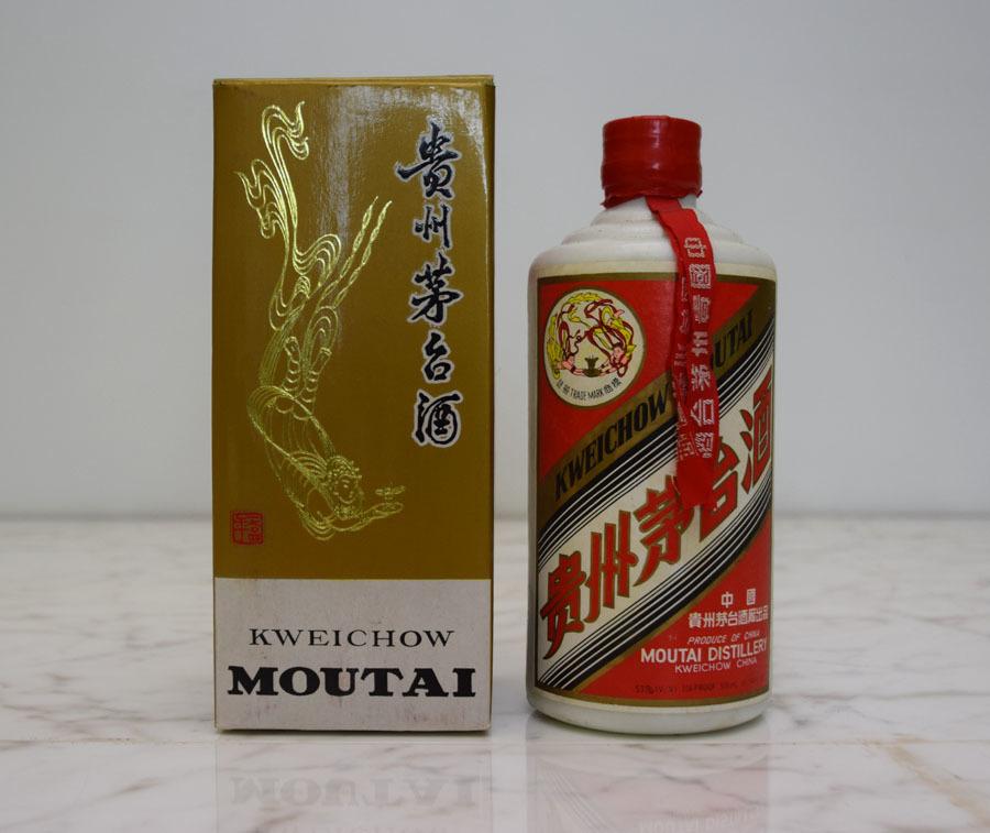 《グッジョブ》◇中国酒 貴州茅台酒 マオタイ酒 天女ボトル 1992年製造