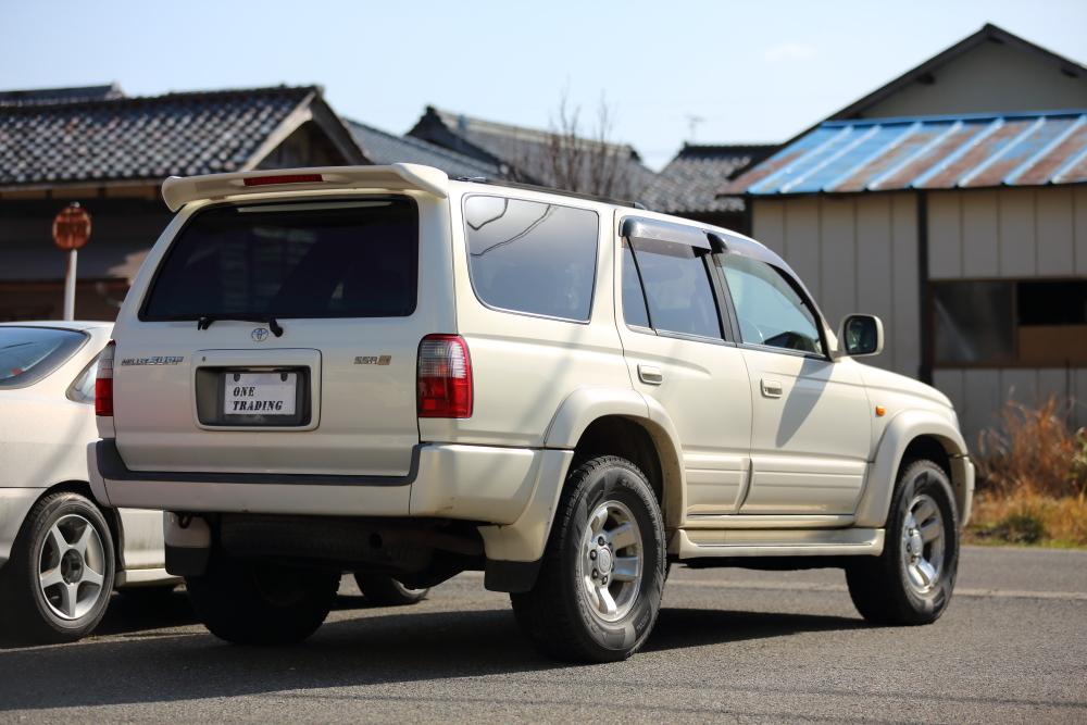 H12年 トヨタ ハイラックスサーフ SSR-X プレミアムセレクション 4WD 車検2年付 乗って帰れます!リモコンスターター,地デジ、ナビ装備_画像2