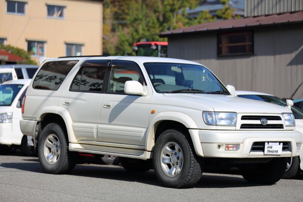 H12年 トヨタ ハイラックスサーフ SSR-X プレミアムセレクション 4WD 車検2年付 乗って帰れます!リモコンスターター,地デジ、ナビ装備
