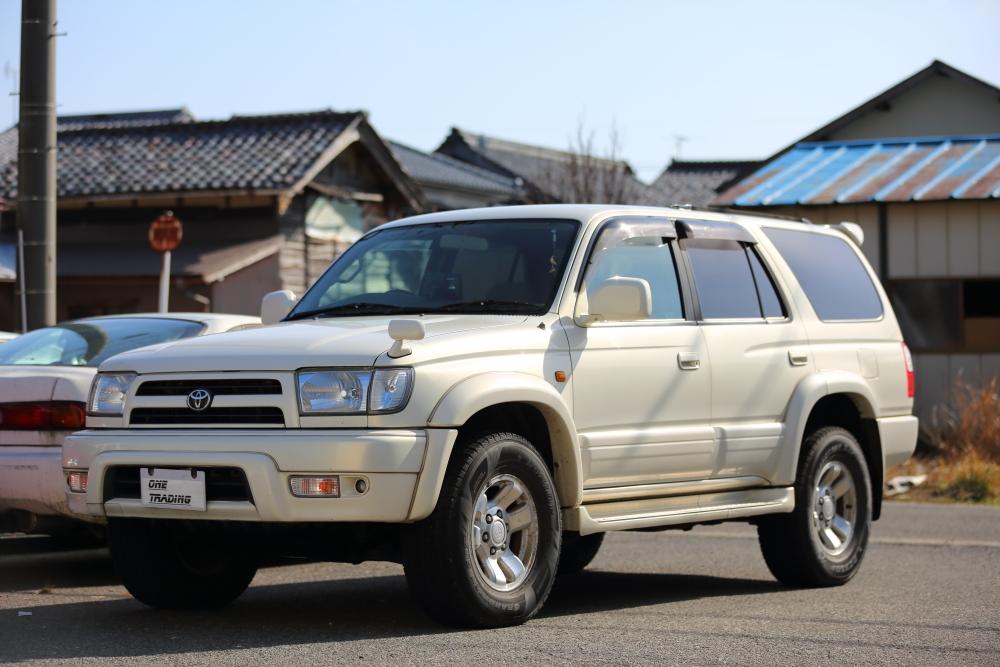 H12年 トヨタ ハイラックスサーフ SSR-X プレミアムセレクション 4WD 車検2年付 乗って帰れます!リモコンスターター,地デジ、ナビ装備_画像4