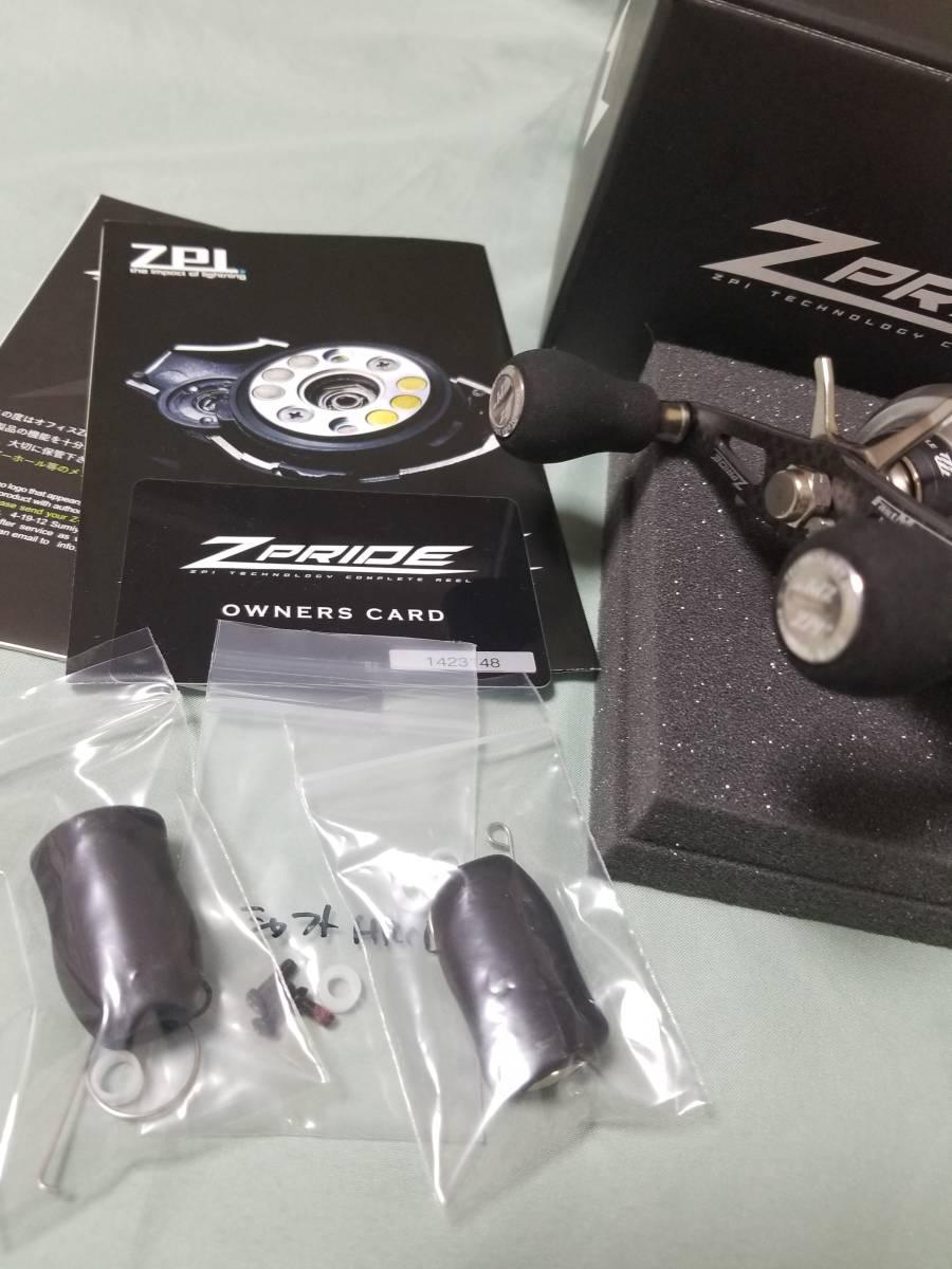 ☆ZPI  17 Z-PRIDE チタンシルバー (左)シマノ 16 メタニウム MGL ジープライド カスタム  未使用に近い中古美品☆_画像5
