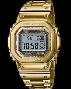 新品 完品 G-SHOCK GMW-B5000TFG-9JR 35周年記念モデル フルメタル オールゴールド_画像5