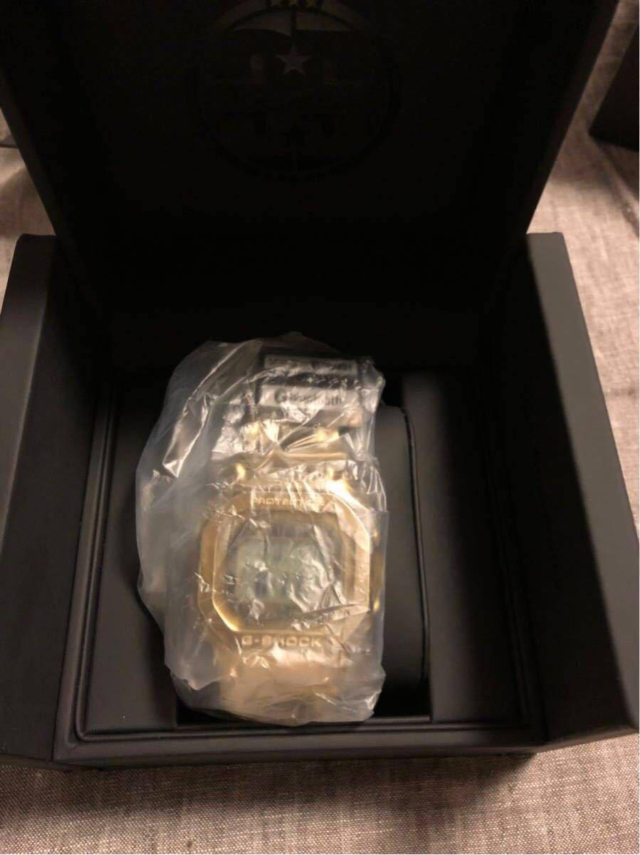 新品 完品 G-SHOCK GMW-B5000TFG-9JR 35周年記念モデル フルメタル オールゴールド