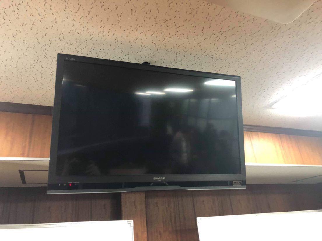 SHARP AQUOS 液晶テレビ 32V 壁掛け 2013年製 ☆動作確認済み☆