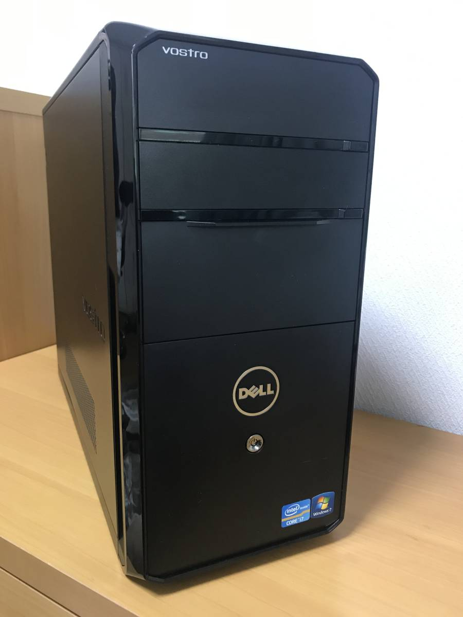 ◆◇【ゲーミングPC/快適動作/高速起動/大容量】Dell Vostro460/Core i5-2400/GeForce GTX650/RAM8GB/SSD250GB+HDD2TB/付属品有◇◆