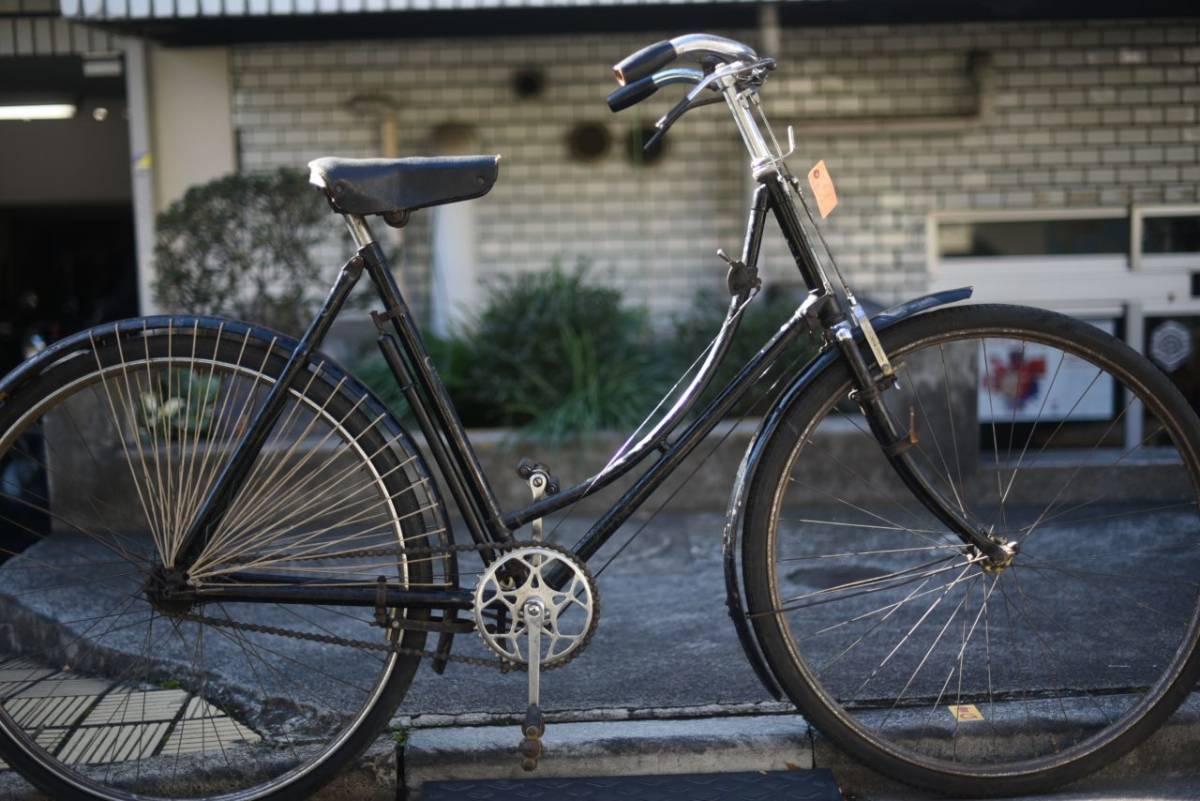 102804 ヴィンテージ 自転車「ELSWICK」 エルスウィック 英国製 レトロ ビンテージ  クラシック イギリス パシュレイ 東京杉並