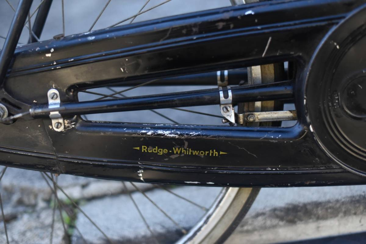 102803 ヴィンテージ 自転車  「RUDGE ラージ」 1954年製  レトロ ビンテージ  クラシック イギリス パシュレイ 東京杉並_画像2