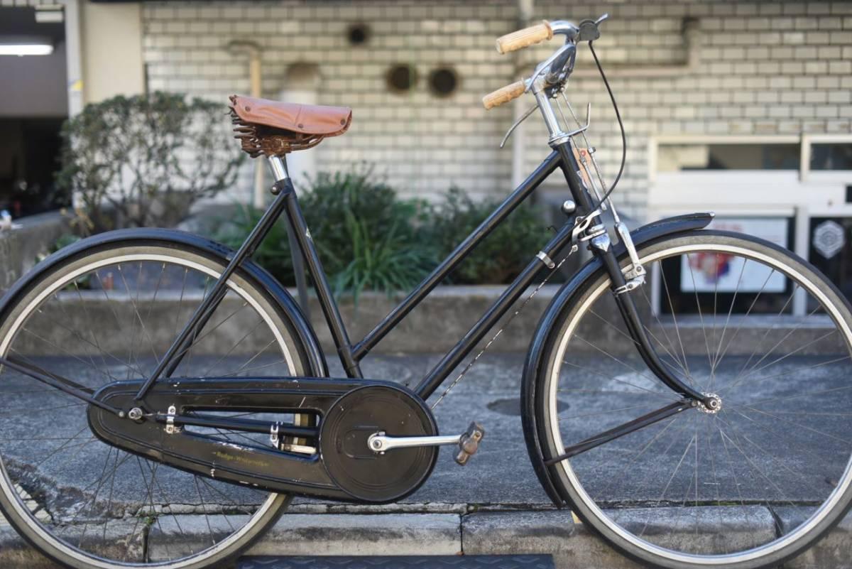 102803 ヴィンテージ 自転車  「RUDGE ラージ」 1954年製  レトロ ビンテージ  クラシック イギリス パシュレイ 東京杉並