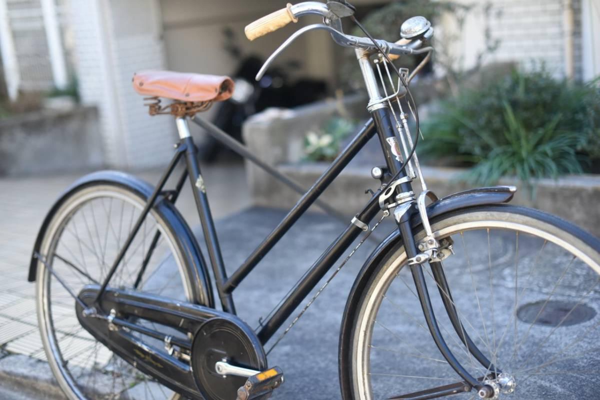 102803 ヴィンテージ 自転車  「RUDGE ラージ」 1954年製  レトロ ビンテージ  クラシック イギリス パシュレイ 東京杉並_画像6