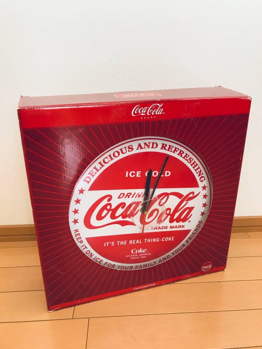 ★ coca-cola(コカコーラ)王冠型ウォールクロック/掛け時計_画像4