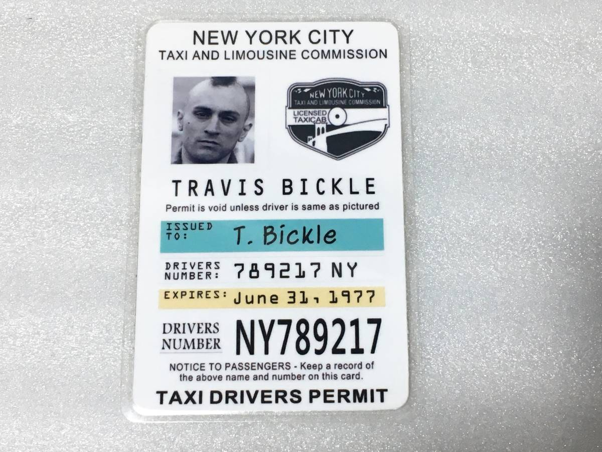 70 period movie goods taxi Driver tiger vi s Bick ru taxi