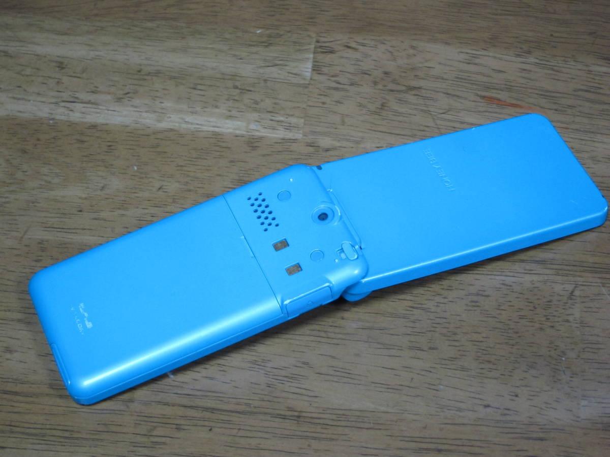 WX334K + 卓上ホルダ CH334K ブルー HONEY BEE BOX ウィルコム ワイモバイル willcom 京セラ PHS_画像3