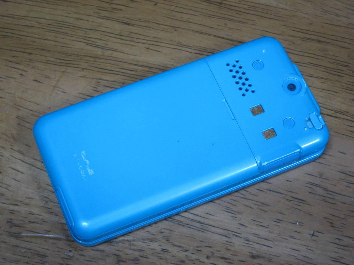 WX334K + 卓上ホルダ CH334K ブルー HONEY BEE BOX ウィルコム ワイモバイル willcom 京セラ PHS_画像5