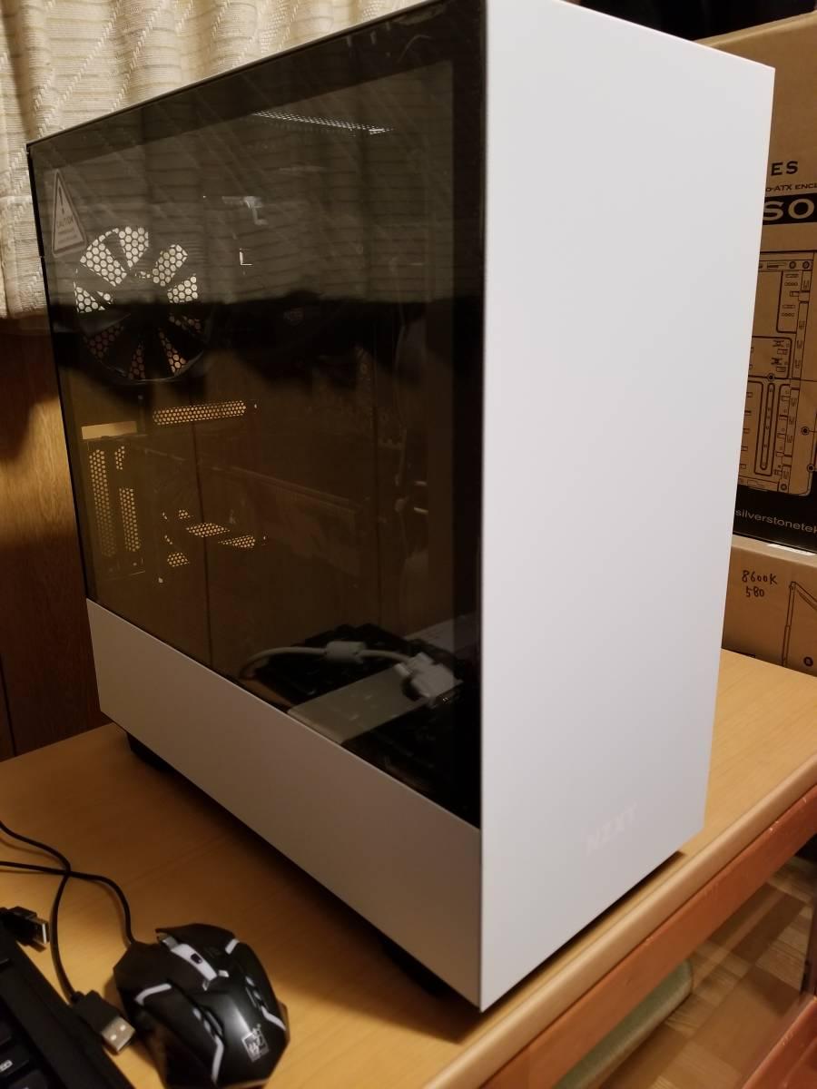 win10pro認証 LGA2066  i7-7740X使用 自作ゲーミングPC_画像3