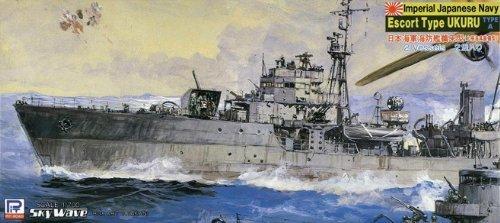 ピットロード 1/700 日本海軍 海防艦 鵜来型 大掃海具装備型 SPW19(中古品)_画像1