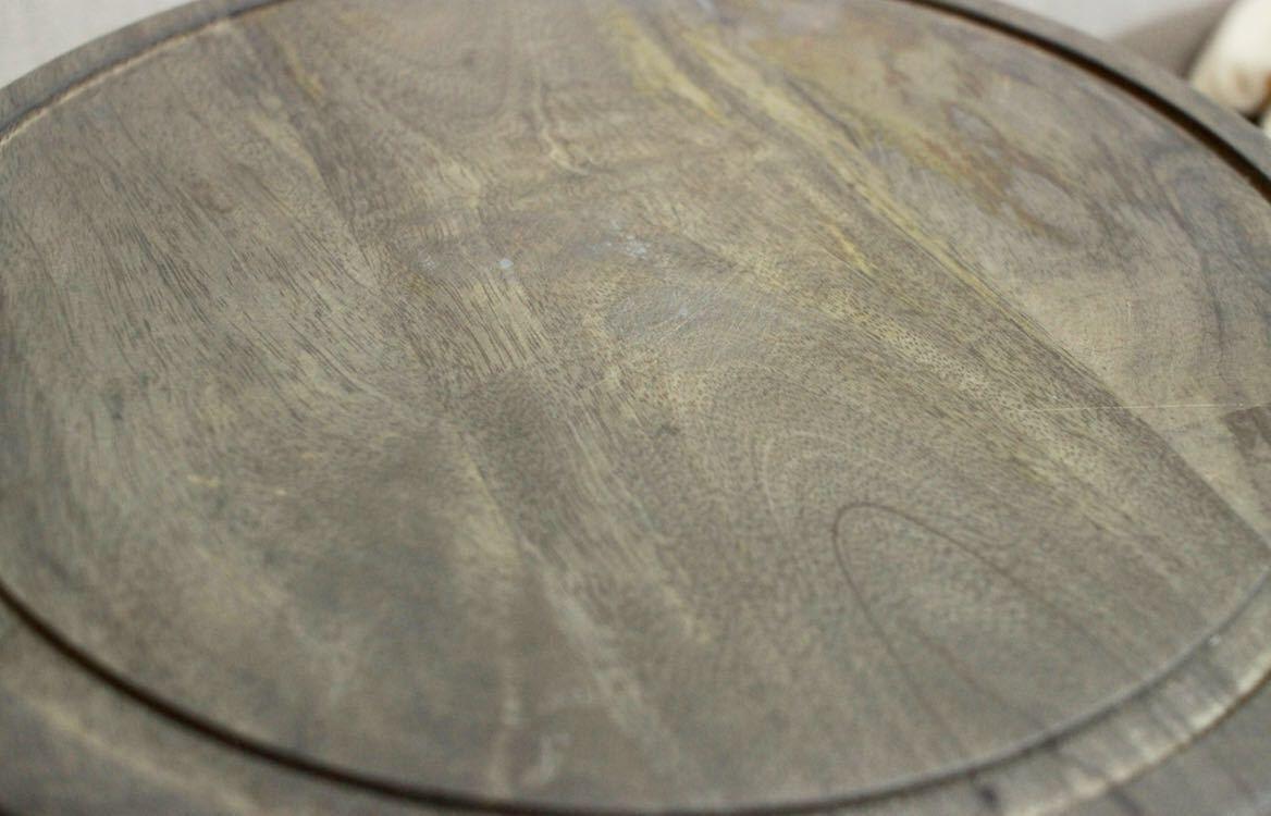 ケーキドーム ガラス製 木製 送料無料 新品未使用 イギリス直輸入 ガラスドーム 大きいサイズ 直径25cm シルバー系 おしゃれ 北欧 プレート_画像4