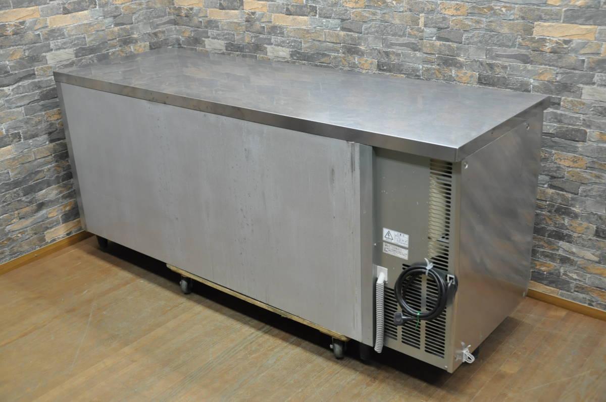 ★☆94-002 フクシマ 台下冷凍冷蔵庫 YRC-181PM1 2013年製 業務用3ドア W1800×D600×H800 コールドテーブル型 動作確認済み♪☆★_画像4