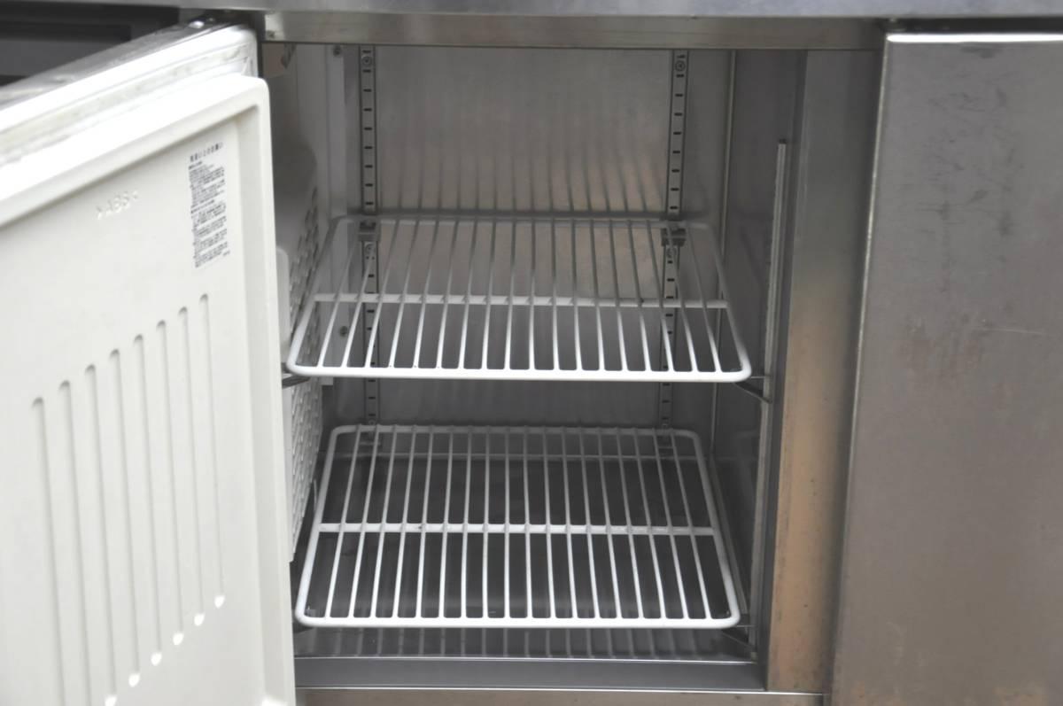 ★☆94-002 フクシマ 台下冷凍冷蔵庫 YRC-181PM1 2013年製 業務用3ドア W1800×D600×H800 コールドテーブル型 動作確認済み♪☆★_画像8