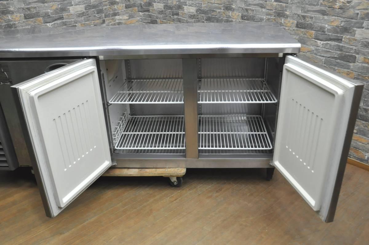 ★☆94-002 フクシマ 台下冷凍冷蔵庫 YRC-181PM1 2013年製 業務用3ドア W1800×D600×H800 コールドテーブル型 動作確認済み♪☆★_画像5