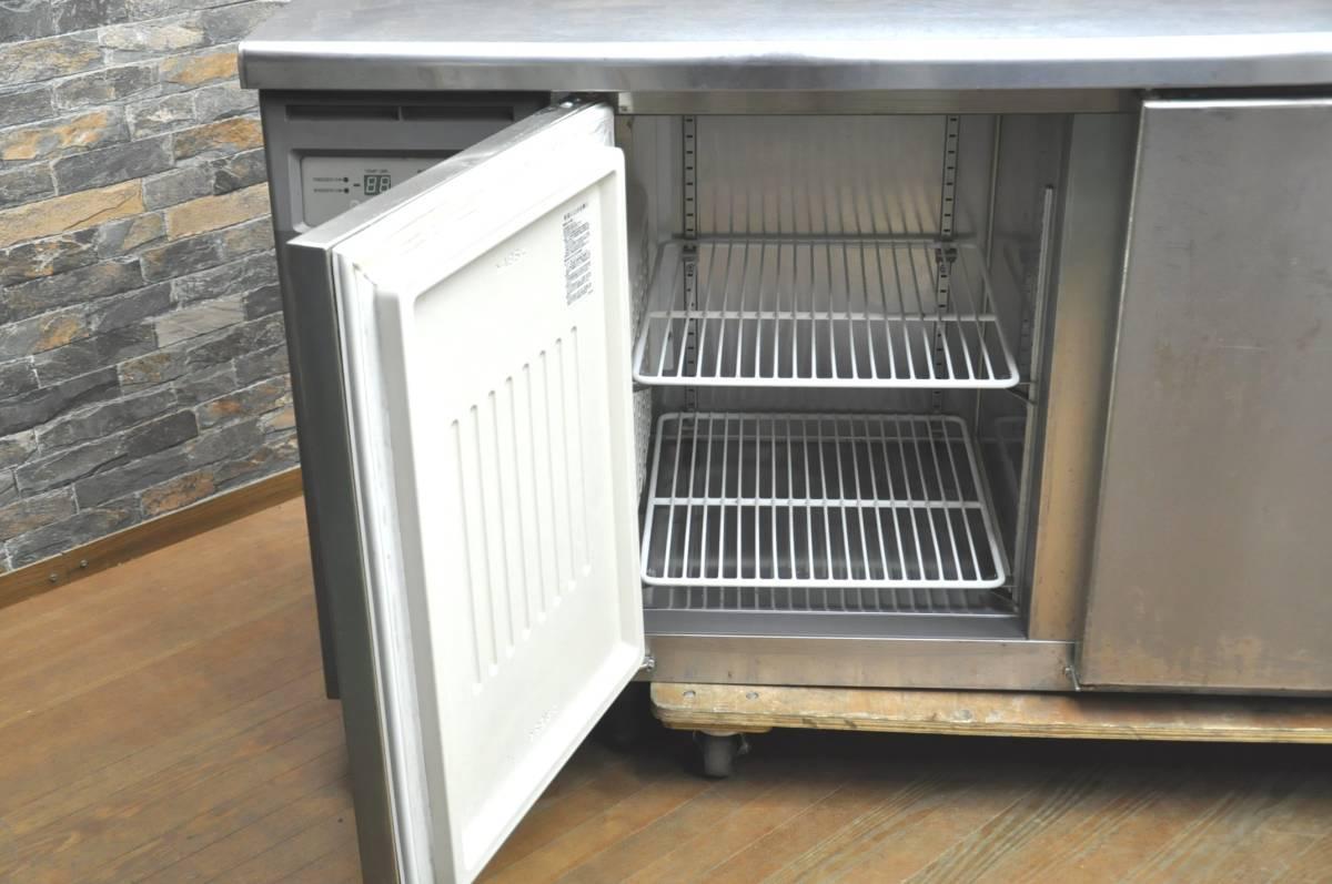★☆94-002 フクシマ 台下冷凍冷蔵庫 YRC-181PM1 2013年製 業務用3ドア W1800×D600×H800 コールドテーブル型 動作確認済み♪☆★_画像7