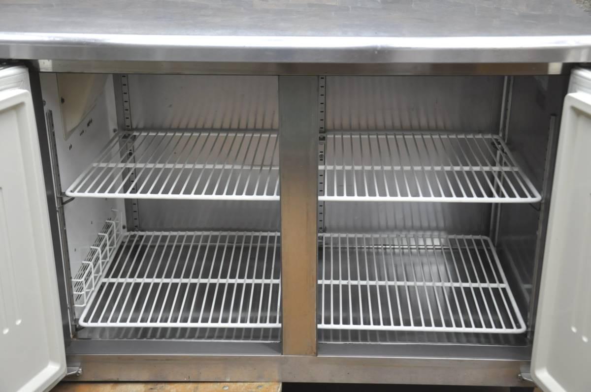 ★☆94-002 フクシマ 台下冷凍冷蔵庫 YRC-181PM1 2013年製 業務用3ドア W1800×D600×H800 コールドテーブル型 動作確認済み♪☆★_画像6