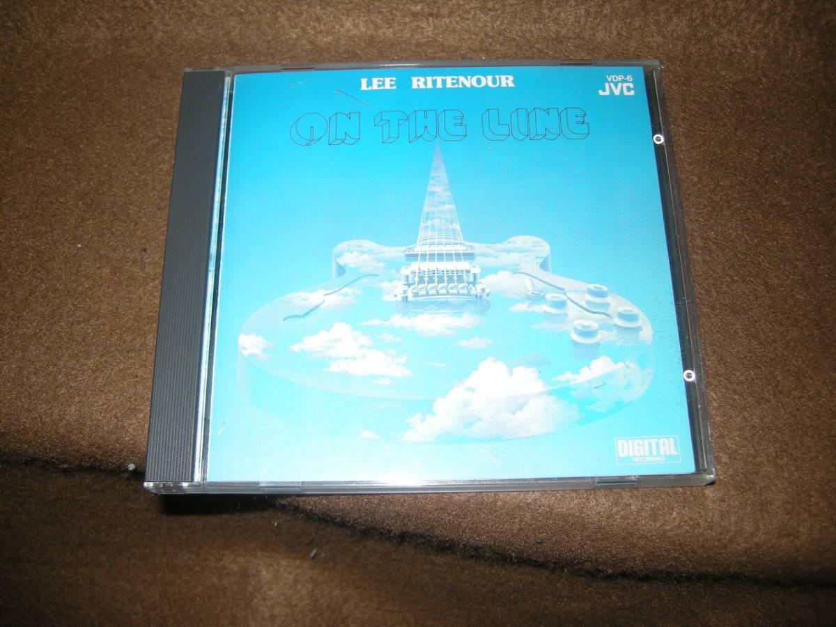 ③即決!国内盤CD! CD リーリトナー(LEE RITENOUR)  オン・ザ・ライン_画像1