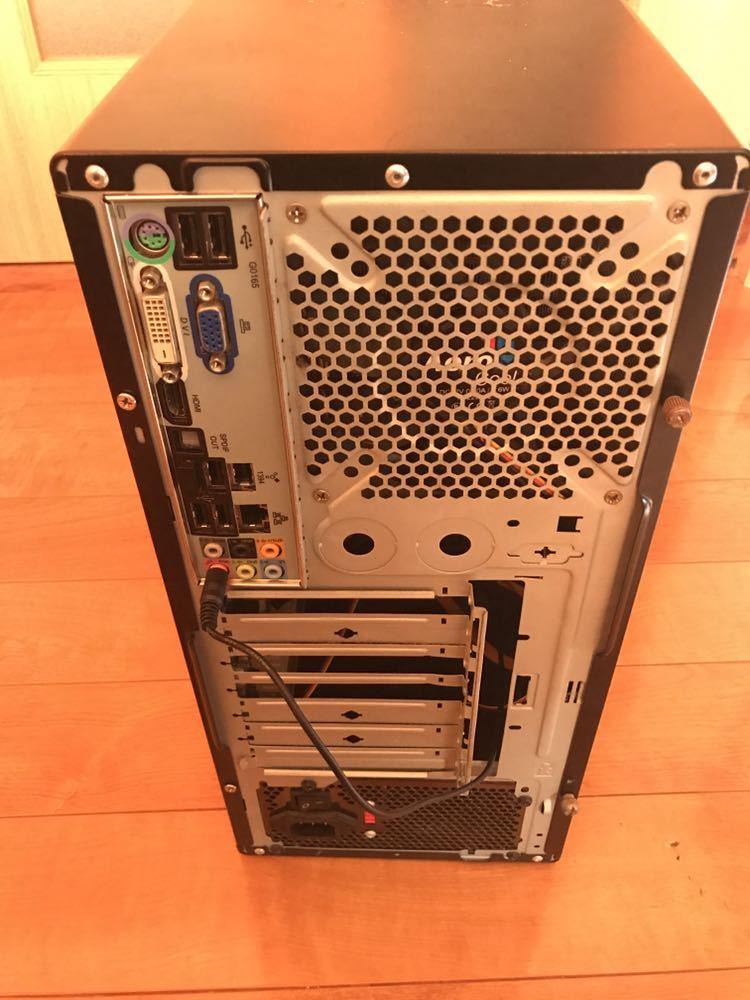 自作PC phenom ii X4 945 メモリ 4GB SSD 60GB+HDD 500GB OS windows10pro 【ジャンク】_画像2