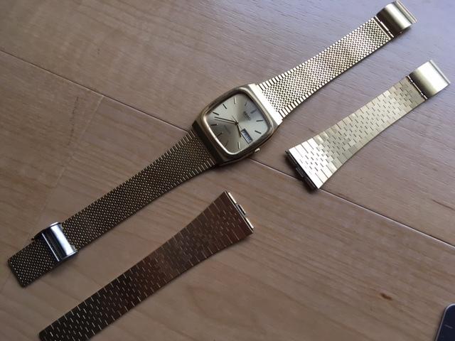 KK237 良品 稀少 レア ヴィンテージ SEIKO/セイコー MAJESTA デイデイト SGP ゴールド 9063-5010 純正ブレス有 クオーツ メンズ 腕時計_画像2