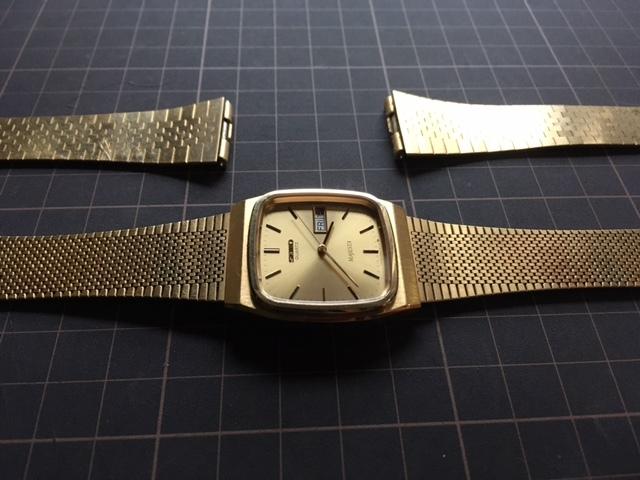 KK237 良品 稀少 レア ヴィンテージ SEIKO/セイコー MAJESTA デイデイト SGP ゴールド 9063-5010 純正ブレス有 クオーツ メンズ 腕時計_画像5