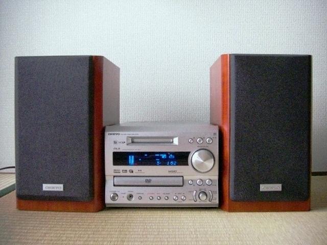ONKYO FR-S9GXDV ( FR-9GXDV / D-S9GX ) DVD(CD)/MD/Tunerコンポ ◆整備済み・動作良品・フルセット◆_画像3